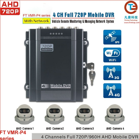 AHD 720P Mobile DVR