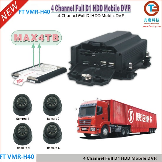 4TB HDD Mobile DVR