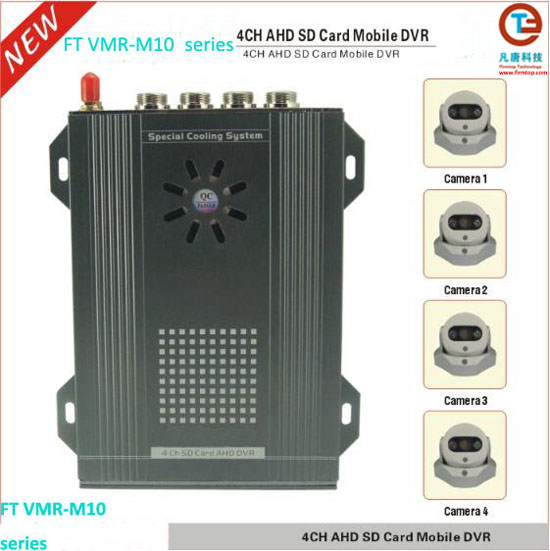 Dual SD Cards Mobile DVR