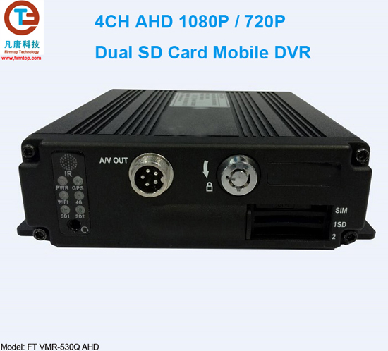 AHD 1080P SD Card Mobile DVR