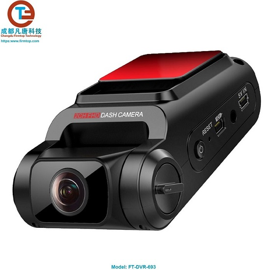 Dual-Lens 1080P Car Camera Recorder