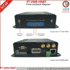 SD Card Vehicle Mobile DVR